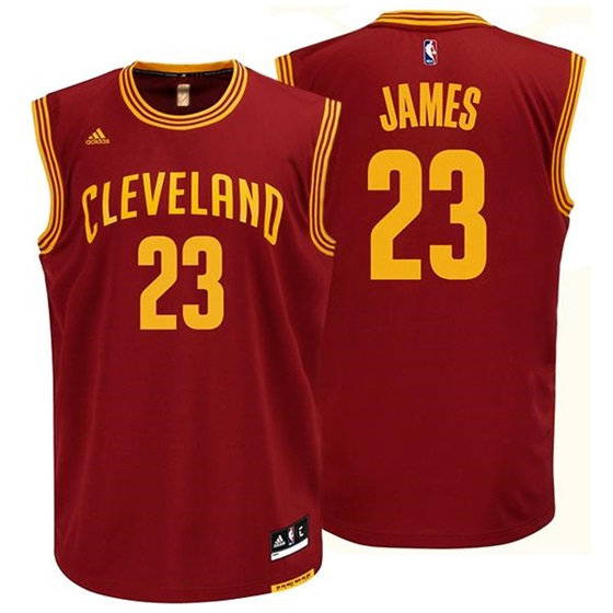 separation shoes af00a 9f304 Adidas NBA Cleveland Cavaliers Lebron James Replica Jersey ...