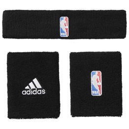 Adidas NBA Headband and Wristband Set