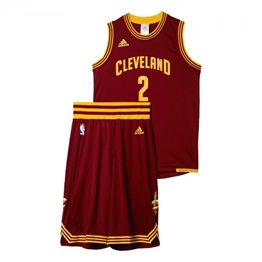 Adidas NBA Kyrie Irving BOYS JERSEY-SHORT PACK ROAD