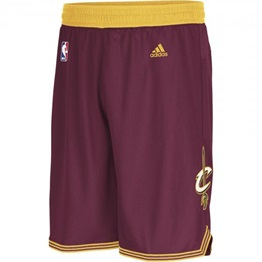 Adidas NBA Swingman Shorts Cleveland Cavaliers Road