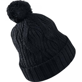 Air Jordan Jumpman Pom Knitted Hat BLACK/BLACK