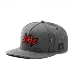 Cayler & Sons Savage Snapback GREY
