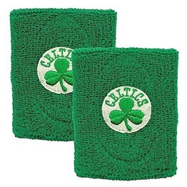 For Bare Feet NBA Wristbands Boston Celtics