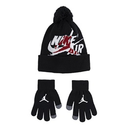 JORDAN KIDS 2PC BEANIE SET