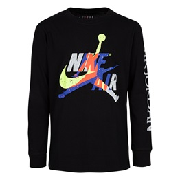 JORDAN KIDS JUMPMAN LS CLASSIC GRAPHIC TEE
