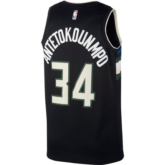 JORDAN NBA GIANNIS ANTETOKOUNMPO MILWAUKEE BUCKS SWINGMAN JERSEY
