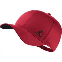 Jordan Classic99 Metal Jumpman Hat GYM RED