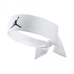 Jordan Jumpman Dri-Fit Head Tie WHITE/BLACK