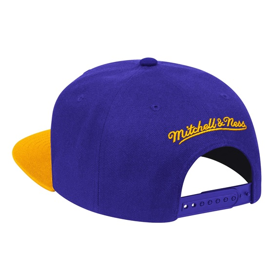 MITCHELL & NESS 2 TONE LOS ANGELES LAKERS SNAPBACK