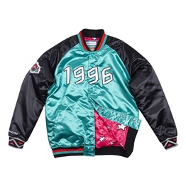 MITCHELL & NESS ALL STAR SATIN JACKET