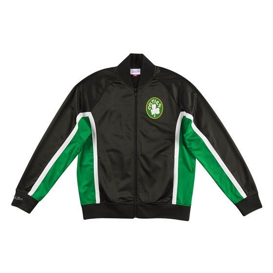 MITCHELL & NESS BOSTON CELTICS CHAMPIONSHIP GAME TRACK JACKET