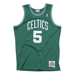 MITCHELL & NESS BOSTON CELTICS KEVIN GARNETT #5 SWINGMAN 2.0 JERSEY