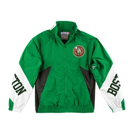 MITCHELL & NESS BOSTON CELTICS MIDSEASON WINDBREAKER 2.0