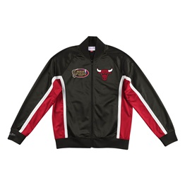 MITCHELL & NESS CHICAGO BULLS CHAMPIONSHIP GAME TRACK JACKET