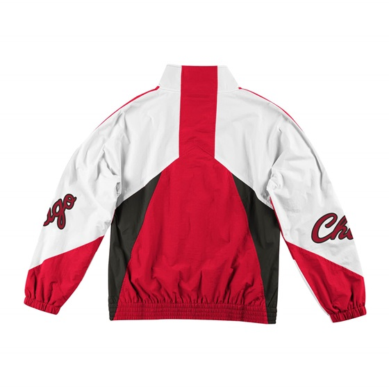 MITCHELL & NESS CHICAGO BULLS MIDSEASON WINDBREAKER 2.0