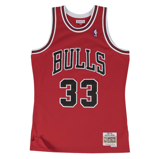 MITCHELL & NESS CHICAGO BULLS SCOTTIE PIPPEN #35 SWINGMAN 2.0 JERSEY