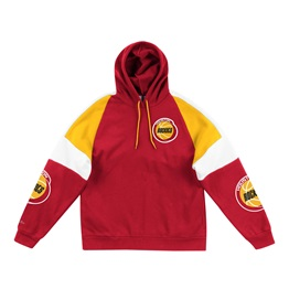 MITCHELL & NESS HOUSTON ROCKETS NBA INSTANT REPLAY HOODIE