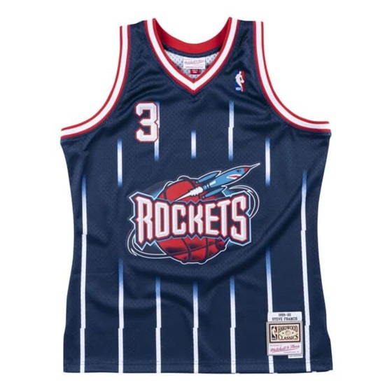 MITCHELL & NESS HOUSTON ROCKETS STEVE FRANCIS NBA SWINGMAN JERSEY