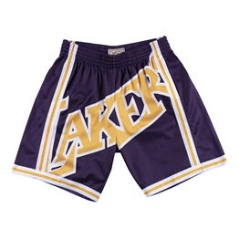 MITCHELL & NESS LOS ANGELES LAKERS 96-97 BIG FACE SHORT