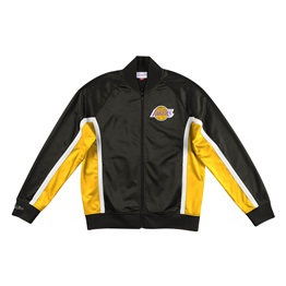 MITCHELL & NESS LOS ANGELES LAKERS CHAMPIONSHIP GAME TRACK JACKET