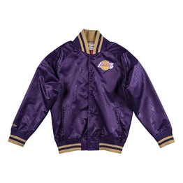 MITCHELL & NESS LOS ANGELES LAKERS CNY SATIN JACKET