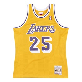 MITCHELL & NESS LOS ANGELES LAKERS EDDIE JONES #25 SWINGMAN 2.0 JERSEY