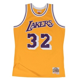 MITCHELL & NESS LOS ANGELES LAKERS MAGIC JOHNSON #32 SWINGMAN 2.0 JERSEY