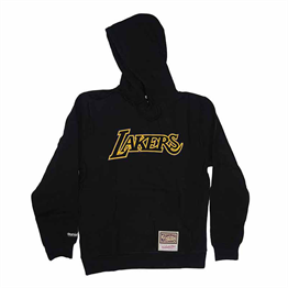 MITCHELL & NESS LOS ANGELES LAKERS NBA LOGO POP HOODY