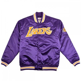 MITCHELL & NESS LOS ANGELES LAKERS SATIN JACKET