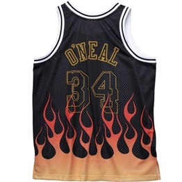 MITCHELL & NESS LOS ANGELES LAKERS SHAQUILLE O`NEAL 1997-98 FLAMES SWINGMAN 2.0