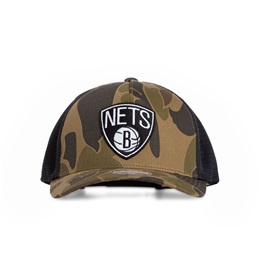 MITCHELL & NESS NBA BROOKLYN NETS DUCK CAMO 110 CAP