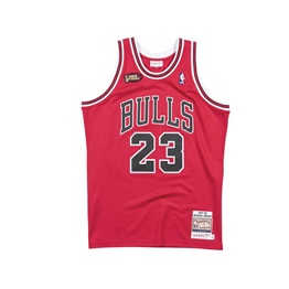 MITCHELL & NESS NBA CHICAGO BULLS 1997 FINALS MICHAEL JORDAN #23 AUTHENTIC JERSE
