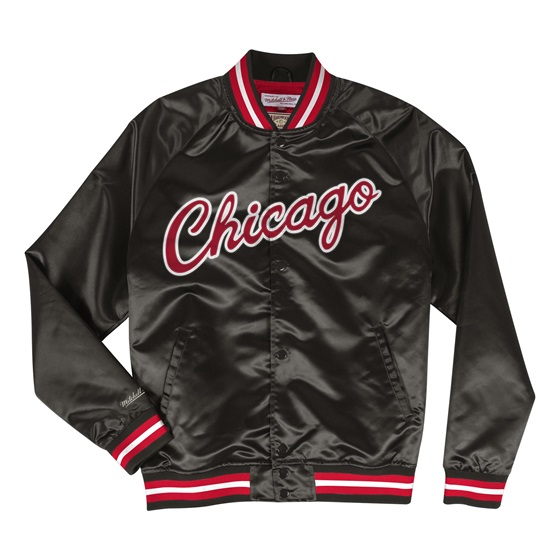 MITCHELL & NESS NBA CHICAGO BULLS LIGHTWEIGHT SATIN