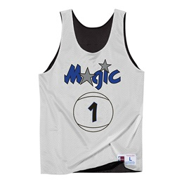 MITCHELL & NESS ORLANDO MAGIC REVERSIBLE MESH TANK TOP