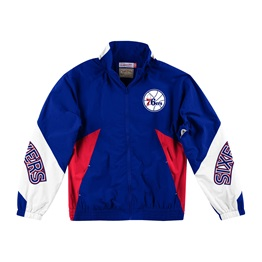 MITCHELL & NESS PHILADELPHIA 76ERS MIDSEASON WINDBREAKER 2.0