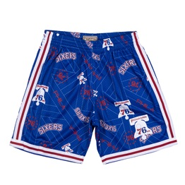 MITCHELL & NESS PHILADELPHIA 76ERS TEAR UP PACK SWINGMAN SHORT