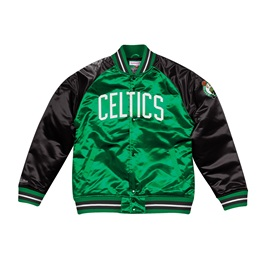 MITCHELL & NESS SEASON SATIN JACKET BOSTON CELTICS