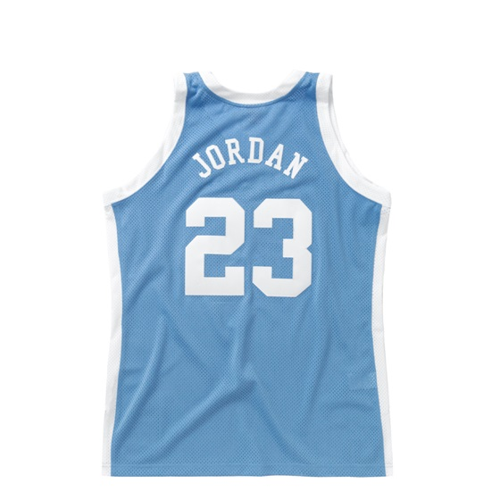 MITCHELL & NESS UNIVERSITY OF NORTH CAROLINA MICHAEL JORDAN 83-84 AUTHENTIC JERS