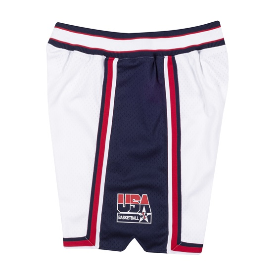 MITCHELL & NESS USA BASKETBALL 1992 AUTHENTIC HOME SHORTS