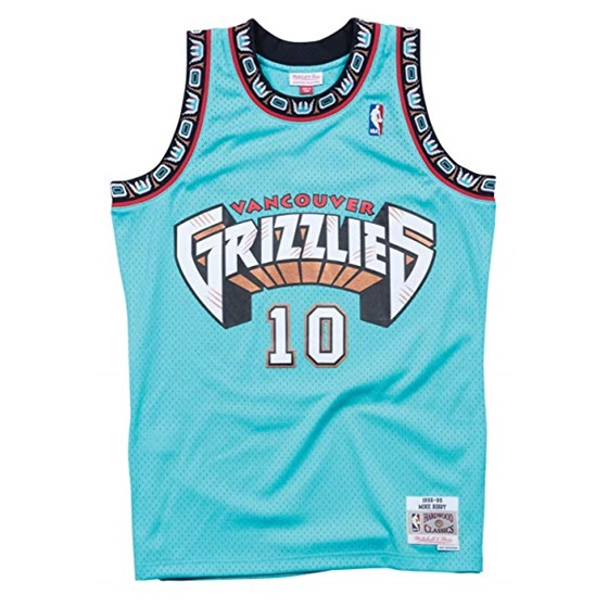 MITCHELL & NESS VANCOUVER GRIZZLIES MIKE BIBBY #10 SWINGMAN 2.0 JERSEY