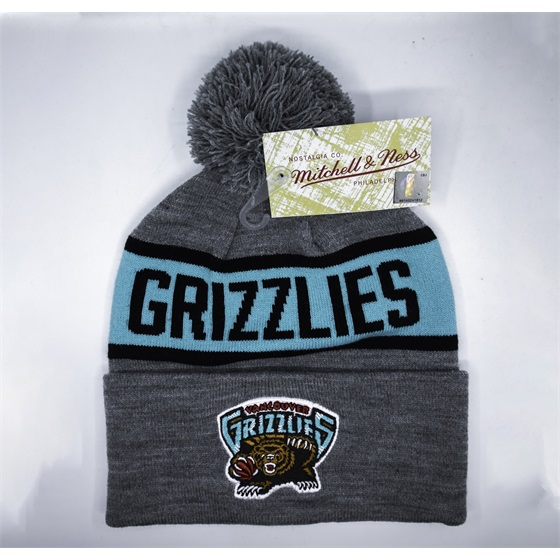 MITCHELL & NESS VANCOUVER GRIZZLIES TEAM TONE KNIT HAT