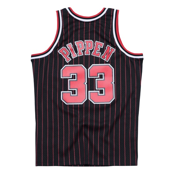 MITHCELL & NESS CHICAGO BULLS SCOTTIE PIPPEN #33 SWINGMAN JERSEY 95-96