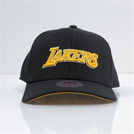 Mitchell & Ness Courtside Stretch Fit Cap Los Angeles Lakers