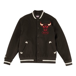 Mitchell & Ness In The Stand Chicago Bulls Varsity Jacket