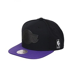 Mitchell & Ness LOS ANGELES LAKERS TRACT SNAPBACK BLACK/PURPLE