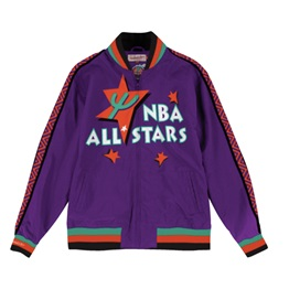 Mitchell & Ness NBA All Star Weekend 95 Team History Warm Up Jacket