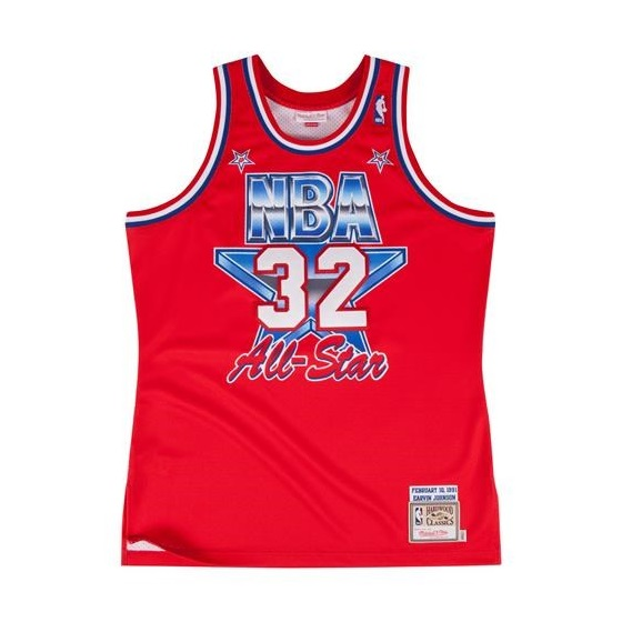 Mitchell & Ness NBA Authentic Jersey All Star West 91 Magic Johnson