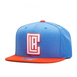 Mitchell & Ness NBA Current Throwback Los Angeles Clippers Snapback