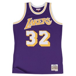 Mitchell & Ness NBA Swingman Jersey Los Angeles Lakers Magic Johnson 84-85
