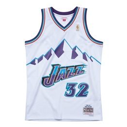 Mitchell & Ness NBA Swingman Jersey Utah Jazz Karl Malone 96-97